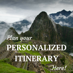 Planning Itinerary at Machu Picchu